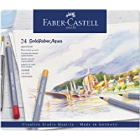 Faber-Castell 辉柏嘉 Goldfaber Aqua 水彩铅笔 金属盒装(12 支装)