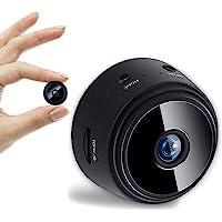 Nuolate2019 WiFi无线1080P全高清夜视迷你摄像头,Cam Motion激活的远程摄录机,用于家庭办公车
