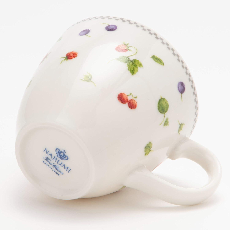 世界顶级骨瓷:2个 Narumi鸣海 草莓花园系列 马克杯 275cc