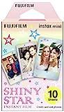 Fuji Instax 闪亮明星即时迷你胶片 - 10 版