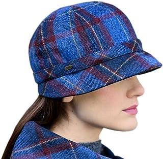 Mucros Weavers 爱尔兰女式帽,爱尔兰制造,斗式挡板风格爱尔兰羊毛