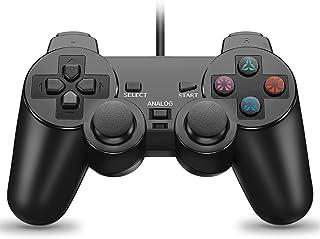 CIPON 有线控制器替换件 适用于 PS2 控制器