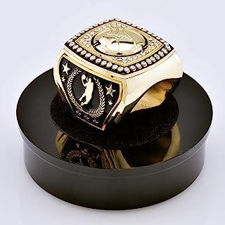 Express Medals 史诗篮球*杯戒指,带展示架和颈链