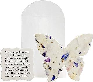 Seed Bloom 手工制作 Bloom & Grow 种子纸 野花种子 嵌入回收种子纸礼品标签 礼品卡 文具和礼品包装用品