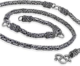 Roman Links 925 纯银男士项链