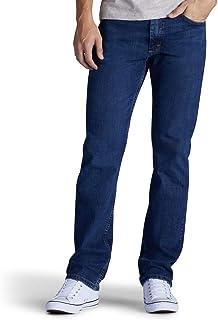 Lee 男士精選經典款直筒牛仔褲