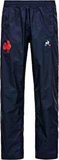 Le Coq Sportif Women's Ffr Training Rain Pant M Dress Blues Trouser