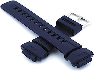 Casio 卡西欧 正品替换表带 适用于 G Shock Watch 型号 G-100-2B,G-2310-2V,G-2400-2V,G-100-2BV