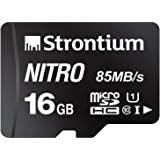 strontium Nitro 256 GB Micro SDXC 内存卡100 MB/S A1 uhs-i U CLA…