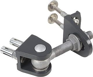 Locinox BOLTON4D-12-4060-ALUM-90-02,银色卷尺,BOLTON4D,4倍可调,180°开口角,面板45x35.5毫米,内容: 2件
