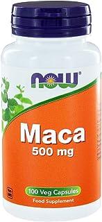 Now Foods Maca Veg Capsules, 500 mg, Pack of 100