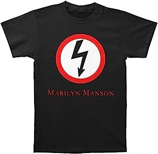 GLOBAL 玛丽莲·曼森男式经典闪特修身 T 恤