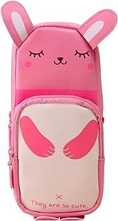 """Katara 1801-01 """"Panda 可爱趣味铅笔盒,粉色"""
