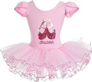 Lito Angels 女童亮片芭蕾舞鞋芭蕾舞短裙舞蹈服