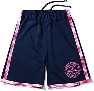 SPALDING 斯伯丁 篮球 青少年训练裤 泰迪欧森蒂克 藏青色 140厘米 篮球
