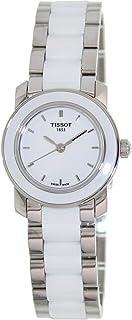 Tissot 女式 T0642102201100 Cera 银色陶瓷手表
