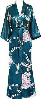 KIM+ONO 缎面和服长袍 - 花卉