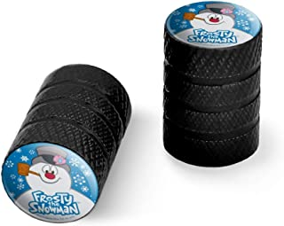 GRAPHICS & MORE 冰雪人 雪人 雪人 摩托车 自行车 轮胎 轮毂 铝 阀杆盖