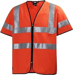 Helly Hansen 警告背心 Hivis 短袖 79218 带拉链 260 XL,橙色