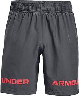 Under Armour 安德玛 男士带文字商标超轻透气现代针织跑步短裤