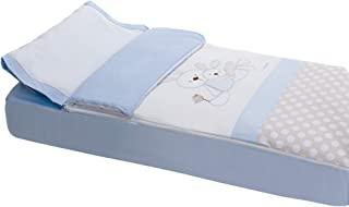 被套带可拆卸枕套,兔子 蓝色 Cuna (60 x 120 cm)