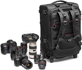 Manfrotto 曼富图 MB PL-RL-H55 Pro 轻型装载机,Switch-55便携式相机包,采用Pro-Light防撕裂面料制成,适合DSLR加4/5附加镜头,黑色