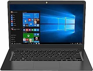 Techbite ZIN BIS 14.1 HD 笔记本电脑,笔记本电脑 Windows 10 Pro 电脑,14.1英寸,英特尔赛扬 N3450 四核,4GB 内存,64GB eMCP,WLAN,蓝牙,5000 mAh 大容量电池