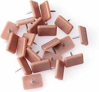 Ruwado 20 件抽屉滑轨,用于修复梳妆台金属矩形,适用于家庭梳妆台