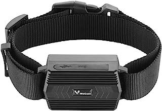 GPS追踪器适用于大型动物,防水实时GPS追踪器带项圈的定位器适用于牛羊马驼90天长待机时间支持APP(2G,SIM不包括在内)