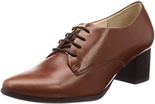 Enchonte 短靴 19213 真皮尖头系带 女士