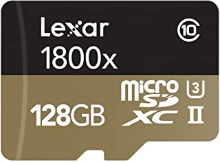 Lexar 雷克沙 Professional 1800x 128GB microSDXC UHS-II 存储卡