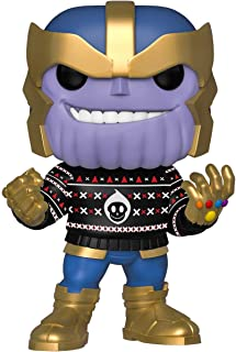 Funko POP! 漫威:假日 - Thanos Thanos Collectible Figure 标准 多种颜色