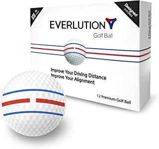 Triple Ball 高尔夫球 3 件套 Ri 系列高级高尔夫运动球 - 兼容我们的推杆贴纸