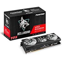 PowerColor Hellhound AMD Radeon RX 6700 XT 游戏显卡,带12GB GDDR6内…