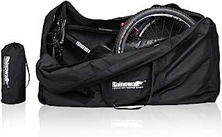 Richkasun 自行车旅行箱 27.5 英寸至 29 英寸折叠自行车运输袋,旅行运输储存自行车袋