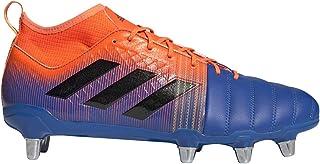 adidas 阿迪达斯 Kakari X-Kevlar 2 SG 防滑鞋 - 男式橄榄蓝/核心黑色/太阳橙