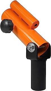 Yes4All T 形杠铃片柱插入灰黄色 �C 适合 5.08 厘米奥运杠铃杆 �C *旋转,易于安装