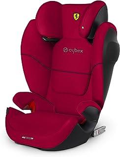 CYBEX Silver Solution M-Fix SL 儿童汽车座椅 赛车红
