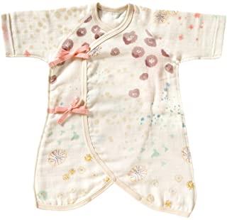 NAOMI ITO 棉纱布 连体衣 紫罗兰 50~60cm