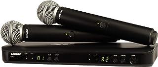 Shure 舒尔 BLX288/SM58 双通道无线麦克风系统,带 (2) 个 SM58 手持人声麦克风