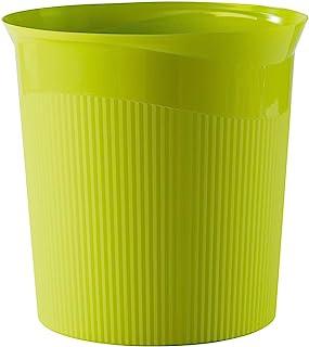 HAN Re-LOOP 废纸篓 6 件 say yes * 可回收 13 升容量 年轻创新设计 时尚耐用 柠檬色
