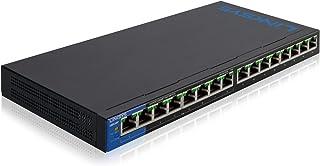 Linksys LGS105-EU 非管理型交换机 Schwarz 16 Port w/PoE
