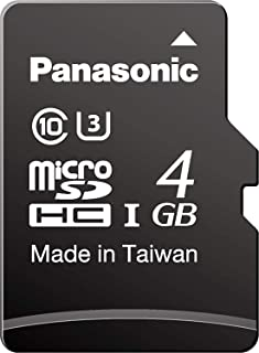 Panasonic 松下 产业/业务用 高耐久microSD卡 3D pSLC 4GB TA系列 RPTMTA04SWA