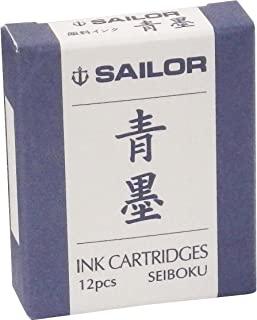 SAILOR 钢笔 钢笔直插式墨囊 青墨 13-0604-142