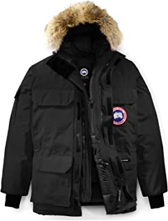 Canada Goose 男式遠征派克大衣 Rf - 黑色 - 2XL
