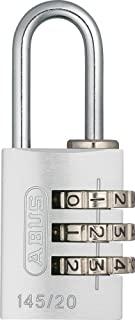 ABUS AB145/20 Plata 挂锁,银色,20