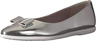 Cole Haan 女士 Zerogrand 蝴蝶结芭蕾平底鞋