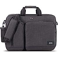 Solo 15.6英寸笔记本电脑混合型背包 肩背手提两用型 灰色 UBN310-10 (美国进口直采)
