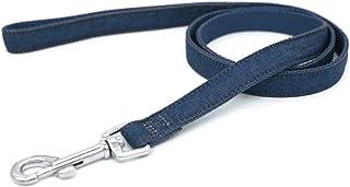 4 英尺(约 1.2 米)牛仔绳狗绳,尼龙绳狗绳,宠物婚礼,软狗绳,*好的狗礼物,宠物用品,非常适合训练,玩耍,露营或后院(蓝色,19 毫米 x 120 厘米)