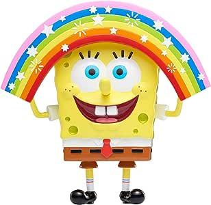 SPONGEBOB SQUAREPANTS Masterpiece Memes 系列| 6英寸可收藏人偶|彩虹海绵宝宝,混合色
